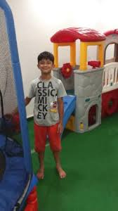 my son in the kids zone picture of sagar ratna restaurants