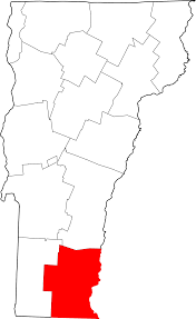 State Of Vermont Map by File Map Of Vermont Highlighting Windham County Svg Wikimedia