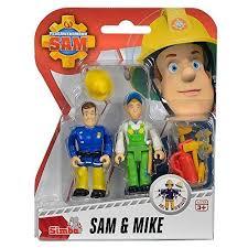 fireman sam figures sam u0026 mike fs91054 hundreds