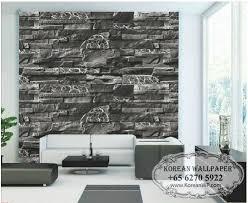 stone wallpaper living room best livingroom 2017