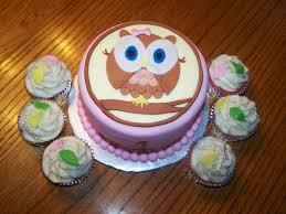 owl birthday cakes pink brown owl 1st birthday cake beth s