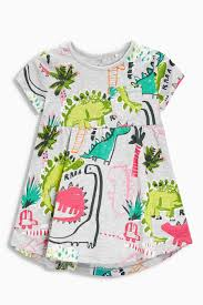 grey dino tunic 3mths 6yrs from the next uk online shop