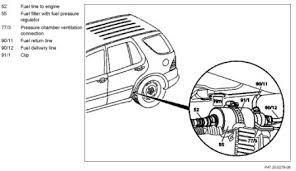 1999 mercedes ml 430 1999 mercedes ml430 fuel filter engine performance problem