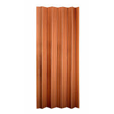 36 X 80 Interior Door Shop Spectrum Oakmont Pecan Hollow Core Vinyl Accordion Interior