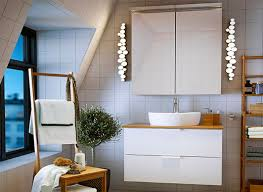 Bathroom Cabinets With Lights Ikea Brilliant Ikea Bathroom Lighting Bathroom Lighting Ikea Jeffreypeak