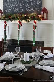 simple christmas table settings simple holiday table setting hoosier homemade