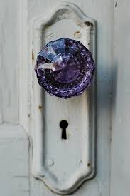 glass crystal door knobs who doesn u0027t love a purple glass door knob it makes you feel