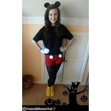 Mickey Halloween Costume Diy Tutorial Diy Halloween Costume Diy Mickey Mouse Costume Polyvore