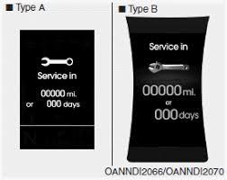 hyundai santa fe service intervals hyundai santa fe service mode lcd display features of your