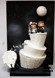 wars wedding cake topper may the be with this wedding between the pages