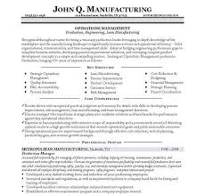 Landscape Resume Samples by 10 Manufacturing Resume Templates Free Pdf Word Samples