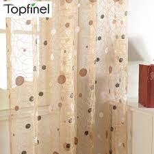 Kitchen Sheer Curtains by 2015 New Bird Nest Modern Window Sheer Curtain For Kitchen Living
