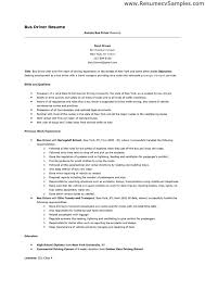 resume for bus driver professional bus driver templates to