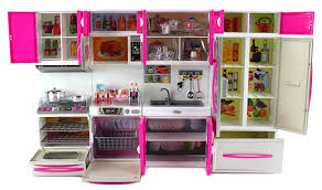 Barbie Kitchen Set For Kids Amazon Com My Modern Kitchen Full Deluxe Kit Battery Operated Toy