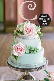 monogram cupcake toppers gold wedding cake toppers monogram luxury monogram topper monogram