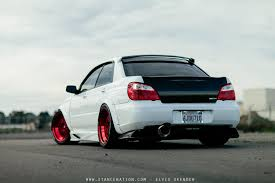 subaru modified 2006 subaru wrx sti cars white modified wallpaper 1500x1000
