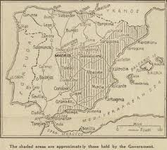 San Sebastian Spain Map by Spanish Civil War Maps Modern Records Centre University Of Warwick