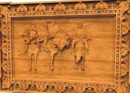 wooden wall mural at rs 760 deewar bhitti chitra shree power