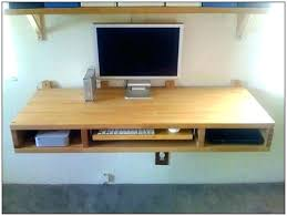 diy wall mounted drop leaf table wall mounted desk diy simple wall desk wall mounted standing desk