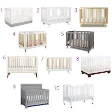hudson convertible crib top 10 modern baby cribs cc and mike lifestyle and design blog