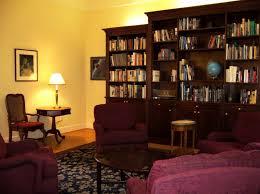 Mahogany Bookcase Formal English Library Built In Mahogany Bookcase Wall Custom