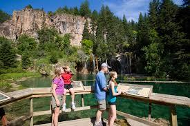 Colorado Lakes Map by Hiking To Hanging Lake Colorado Colorado Com