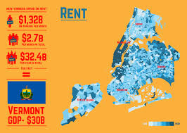 New York Map State by 16 Maps That U0027ll Change How You See New York City Huffpost