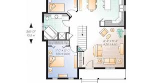 One Story Open House Plans One Floor House Plans