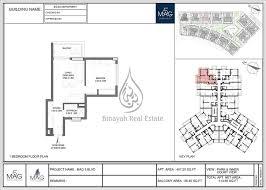 mag 5 boulevard 2 bedroom apartment 661 sq ft floor plan