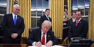 president donald trump has started redecorating the oval office