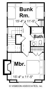 craftsman style house plan 2 beds 1 5 baths 1038 sq ft plan 928