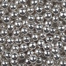 edible bling buy 50g 4mm edible silver balls by baking bling cup cake