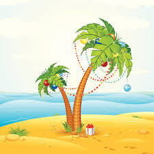 Decorating Palm Trees For Christmas by Palm Tree Christmas Clip Art Vector Images U0026 Illustrations Istock