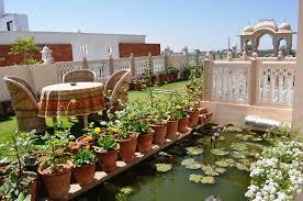 designing a small terrace garden margarite gardens
