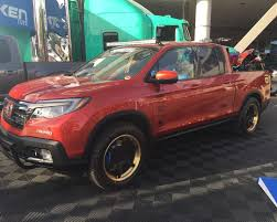 custom honda custom honda ridgelines at the 2016 sema show a fish called honda