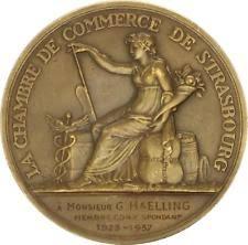 chambre des commerces strasbourg medaille chambre commerce en vente ebay
