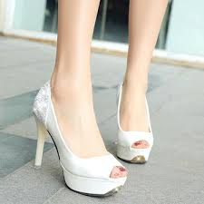 wedding shoes open toe shop peep toe bridal shoes on wanelo