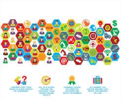 crowdsourcing design 30 playful colorful illustration designs for ennomotive a business