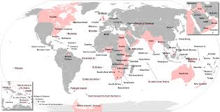 Great Britain On World Map by All Of The Land Colonized By Great Britain 2 753 X 1400 Language