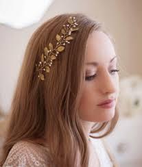 bridal headband gold leaf bridal headband handmade quality princess
