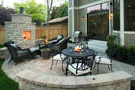 Designs For Backyard Patios Cheap Outdoor Patio Ideas Backyard Landscaping With Gravel Ideas