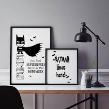 online get cheap poster prints batman black and white aliexpress