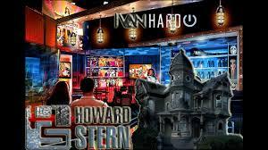 howard stern howard stern haunted house halloween 2016 youtube