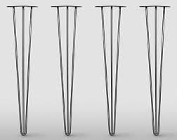 Modern Metal Furniture Legs by Metal Table Legs Etsy