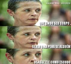 Carol Twd Meme - carol montagem the walking dead meme humor by twdmeuvicio on
