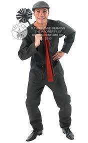 Mens Disney Halloween Costumes Disney Mary Poppins Adults Fancy Dress 1960s Bert Edwardian Mens