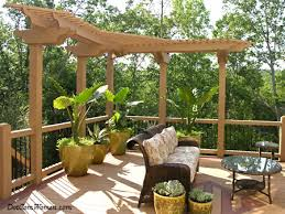 New Backyard Ideas by Mini Pergola On Deck 7 Deck Design Ideas For Your New Home Deck