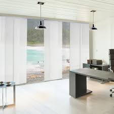 Levolor Panel Track Blinds by Window Treatments For Sliding Glass Doors Ideas U0026 Tips