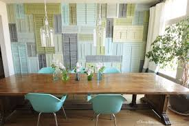 Unique Diy Furniture Ideas Unique Diy Wall Art Ideas For Dining Room From Louvered Windows