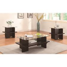 coffee table amazing occasional table set glass living room